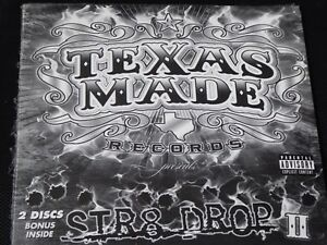 Texas-Made-Records-Str8-Drop-II-Vol-2-SEALED-NEW-CD-2008-WIZE-BUBBA-JAUN-GOTTI
