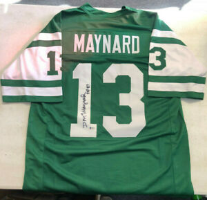 88babd4521f Image is loading DON-MAYNARD-AUTOGRAPH-SIGNED-JERSEY-AUTO-NEW-YORK-