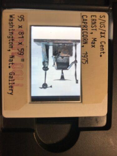 "Max Ernst /""Capricorn "" Surrealism Dada 35mm Art Slide"