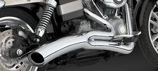 Vance & Hines Big Radius 2 - 1 Chrom, für Harley - Davidson Dyna 2006 - 2014
