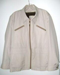 London Fog Jacket Beige Mens Size 42 Reg Vintage Late 1960 S Ebay