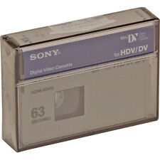 1 Sony HD HDV mini DV tape HDM-63VG for Canon Vixia HV30 HV40 minidv camcorder