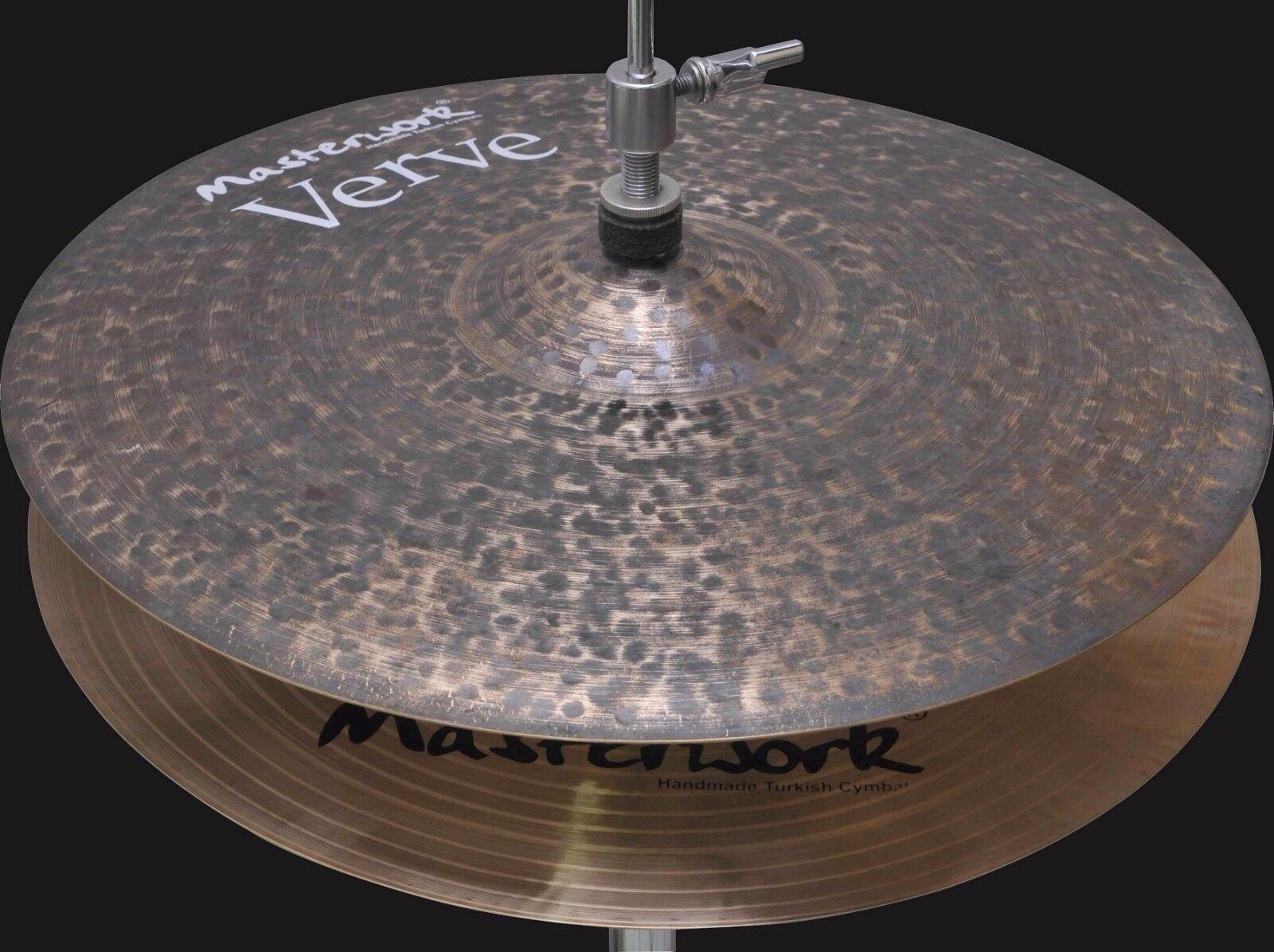 Masterwork Cymbals Verve Series 15-inch Verve Hi-Hat Light Cymbals