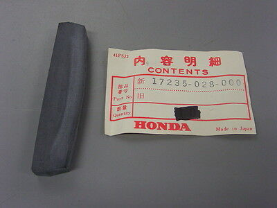 NOS Honda Cleaner Cover Gasket S90 CL90 17235-028-000