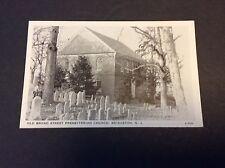 Old Broad Street Presbyterian Church Bridgeton, New Jersey Postcard