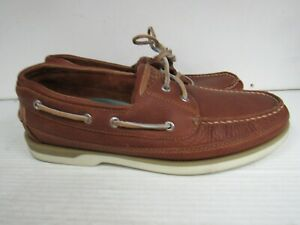 MENS SPERRY TOP SIDER MAKO EYED BOAT SHOES STS17242 SIZE 11.5  T338
