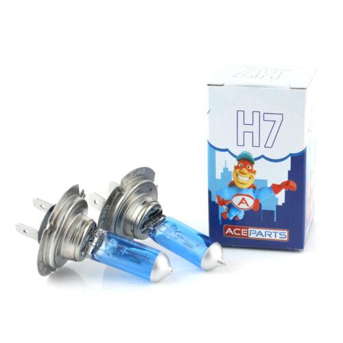 For BMW 5 Series E39 H7 55w Super White Xenon HID High Main Beam Headlight Bulbs