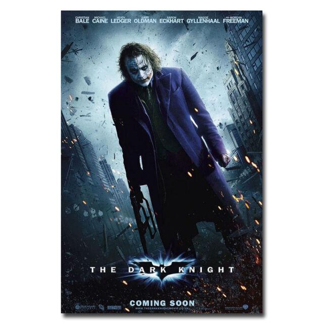 Batman Joker The Dark Knight Rises Movie Silk Poster 24x36 inch 008