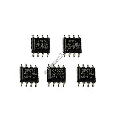 100PCS IC OP07CP OP07 DIP-8 TI Operational Amplifier NEW s8