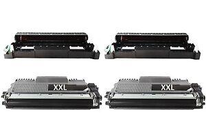 2-Drum-compatible-2xxl-de-Toner-Compatible-Pour-Brother-hl-5240dn-hl-5240-hl-5240l
