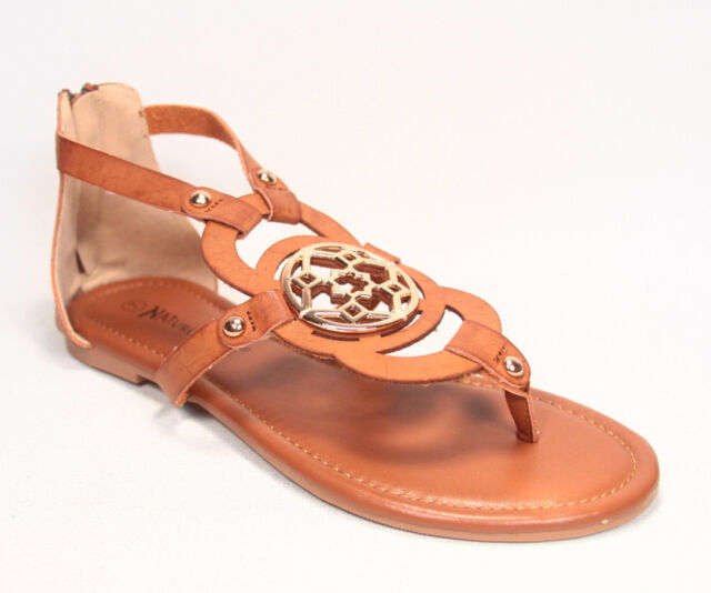 Summer  Strappy Thong Flat Zipper Sandal Women's Shoes 2 Style NEW Size 5.5 - 11