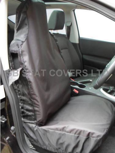 MERCEDES C / E CLASS  CAR SEAT COVERS -  WATERPROOF BLACK-CSC300 - SINGLE COVER