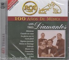 SEALED - Los Tres Diamantes CD 100 Anos De Musica 2 CD's 40 Temas SEALED