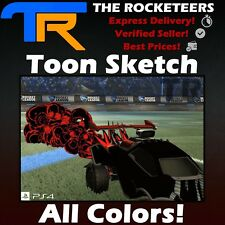 Ps4 Psn Rocket League Every Painted Tachyon Import Boost Crimson