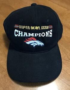Image is loading Vintage-Denver-Broncos-Super-Bowl-XXXII-32-Champions- dd5e87792