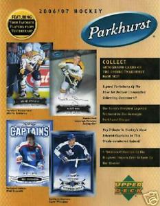 New-2006-07-UD-NHL-Hockey-Parkhurst-Sealed-Pack-6-Cards