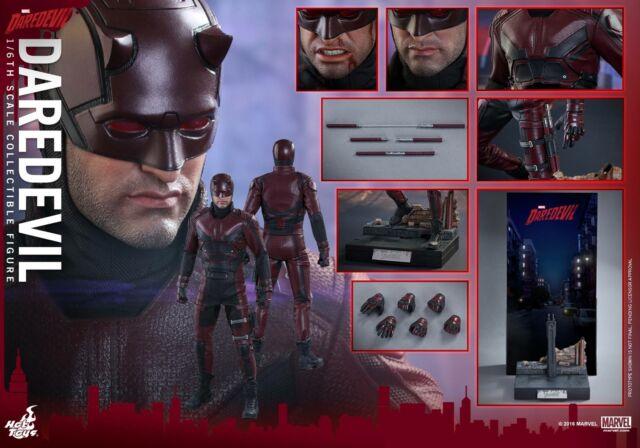 Matt Murdock Unmasked head sculpt for Hot Toys  Marvel/'s Daredevil TMS003