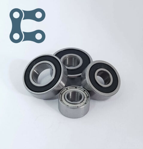 Rodamientos de rodillos de Modelo en Miniatura Pequeño Profundo Grove Caucho/Metal Sello 2RS/Zz