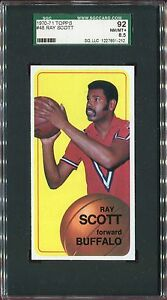 1970-71-Topps-Basketball-48-RAY-SCOTT-Buffalo-Braves-SGC-92-NM-MT
