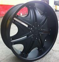24 Inch Sik 004 Rims & Tires Yukon Escalade F150 Tahoe Silverado Sierra Denali