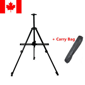 Adjustable-Artist-Metal-Folding-Painting-Easel-Display-Tripod-Stand-Carry-Bag