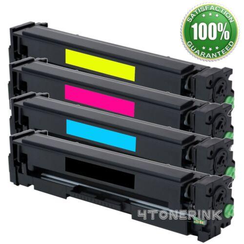 Toner Cartridge for HP 201X CF400X Color LaserJet Pro M277dw M277 M252dw M252