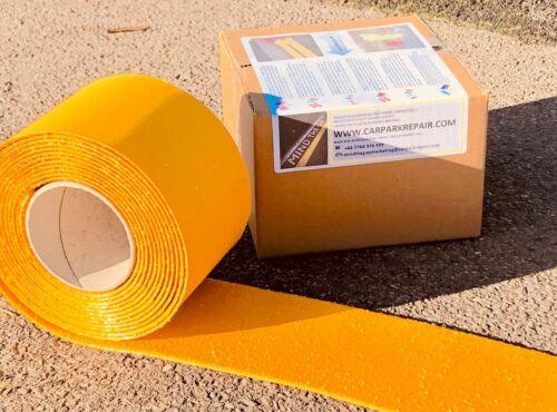 Línea Amarilla 10 M antorcha marca Vial-en la cinta reflectante de línea de pintura de calzada