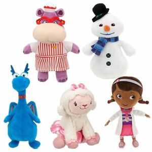 Disney-Doc-McStuffins-Hallie-Hippo-Chilly-Stuffy-Lambie-Plush-Toy-Doll-US-SELL