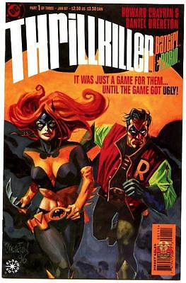 Flight Tracker Thrillkiller #1-3 Harley Quinn 1997 Dc Avg Nm/nm
