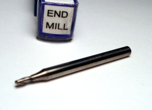 "Carbide Stub End Mill 1//16/"" 2FL 1//8/"" x 1//8/"" x 1-1//2/"""