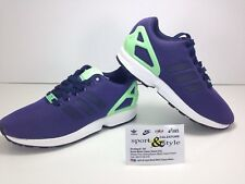 SCARPE N. 37 1/3 UK 4 1/2 ADIDAS ZX FLUX J SNEAKERS BASSE ART S76282