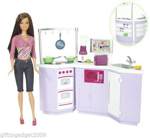 Barbie – Teresa & Kitchen New & Sealed Rare Collectable