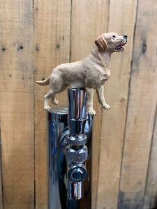 Yellow Lab Dog Beer Keg Tap Handle Kegerator Labrador Retriever Mini Knob Pull