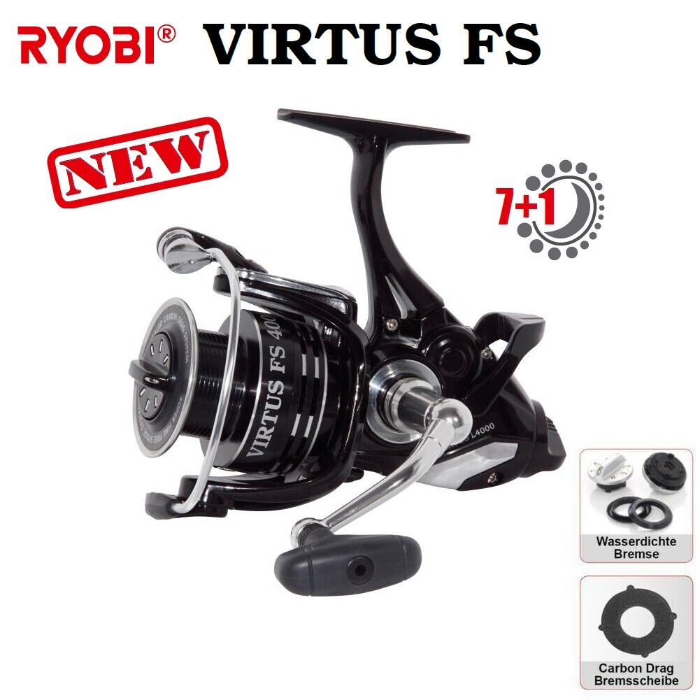 Ryobi Virtus gratuito spool 2500 con freno in autobonio modellololo 2019