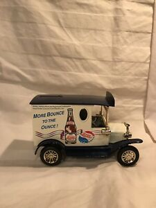 Pepsi Die-Cast Delivery Truck - Coin Bank