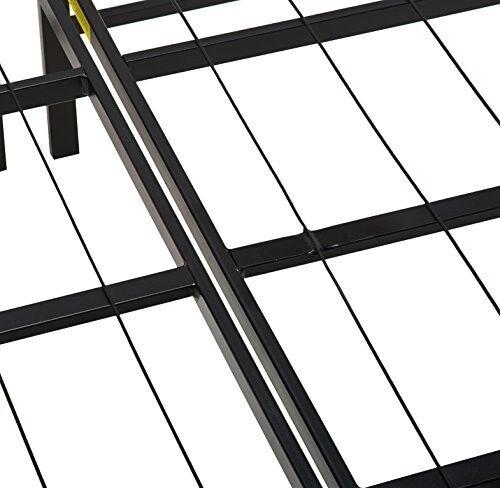 Cama Plegable Plataforma Marco Tamaño Full Base SiIenciosa Resistente Calidad