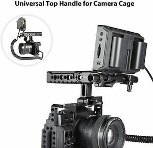 SmallRig NATO Top Handle Kit with 15mm Rod Clamp Arri Locating Pins Cold Shoe