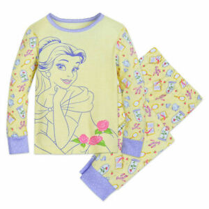 5ef30431e NWT Disney Store Sz 5 6 7 8 10 Belle Pals Sleep Set 2 pcs Pajamas ...