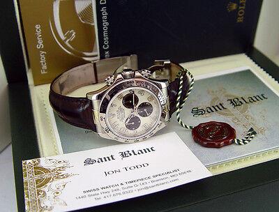 ROLEX - Mens 40mm 18kt White Gold Daytona Panda Dial - 116519 SANT BLANC
