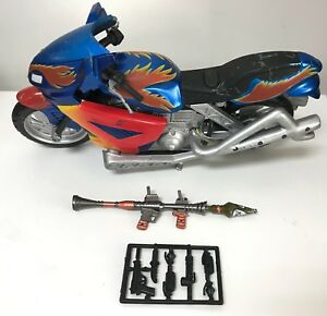 """1//12 scale motorcycle metal RPG for 6/"""" action figures weapons pack FIG-PK2"""