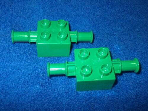 LEGO DUPLO 2 x support pelle tracteur 3924 3289 3294 3596 5647 4678 40637