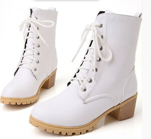 8768 alti scarpe donna Stivali Heel Bianco 5 invernali Cm da confortevoli Cq5vv6Fx
