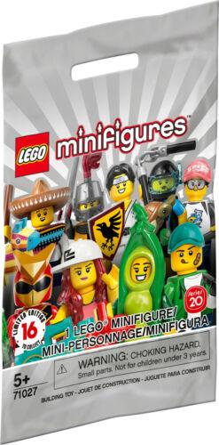 LEGO Minifigures série 20-No.16 Drone Boy New /& Sealed