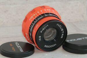Industar-2-8-50mm-Objektiv-m39-RF-Russische-i-26m-Leica-Zorki-FED-Color