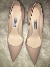 "Authentic Prada Nude Pumps 4"" Size 38"