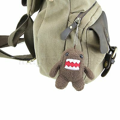 Keychain Domo Kun Plush Doll Toy Baby Kids Cell Phone Strap Christmas Gift