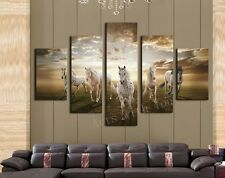 Home Decor Horse Animal Wild Wall Painting Art Printing Canvas Prints