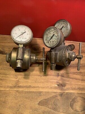 AIRCO Welding Oxygen Acetylene Gauges, Sold As Parts Only ...