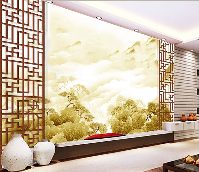 3D Side landscape 4345 Wall Paper Wall Print Decal Wall Deco Indoor Wall Murals