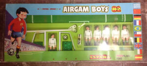 Airgam Boys Airgamboys Soccer Players avec terrain de football